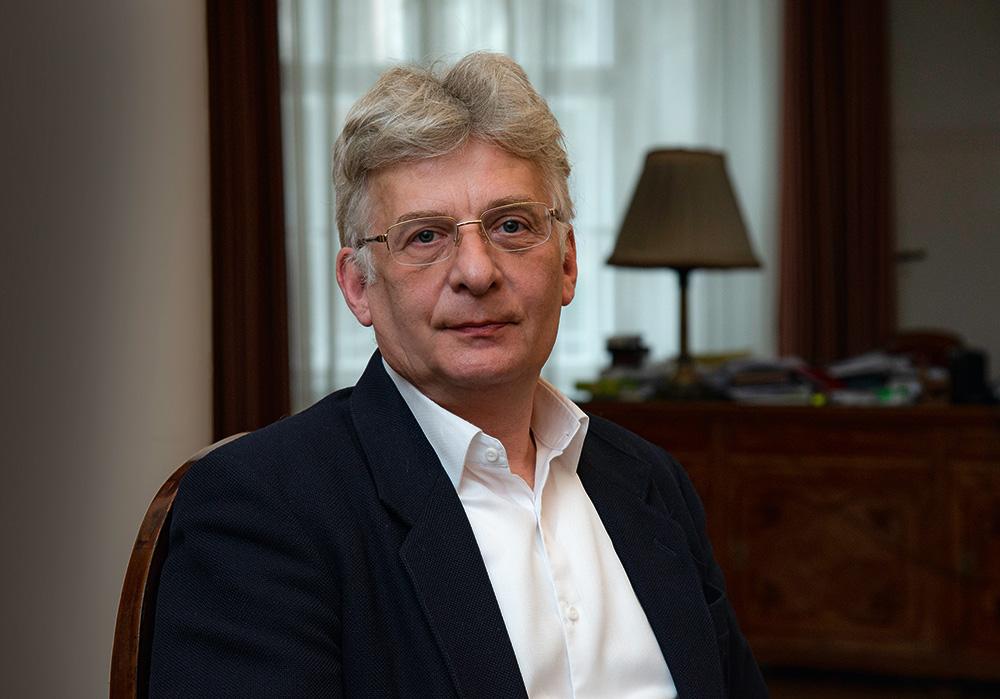 Varga Benedek, a Magyar Nemzeti Múzeum főigazgatója Fotó: Szilágyi Lenke